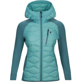 Peak Performance W's Helium Hybrid Hood Jacket Nile Blue
